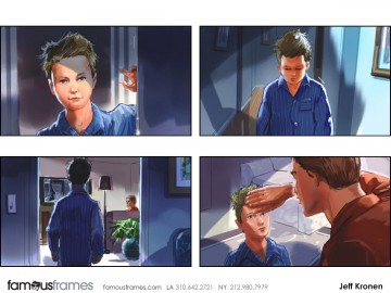 Jeff Kronen's Kids storyboard art