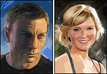 Jeff Kronen's Likenesses storyboard art