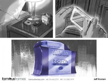 Jeff Kronen's Products storyboard art