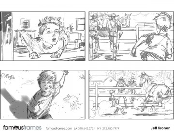 Jeff Kronen's Shootingboards storyboard art