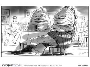 Jeff Kronen's Characters / Creatures storyboard art
