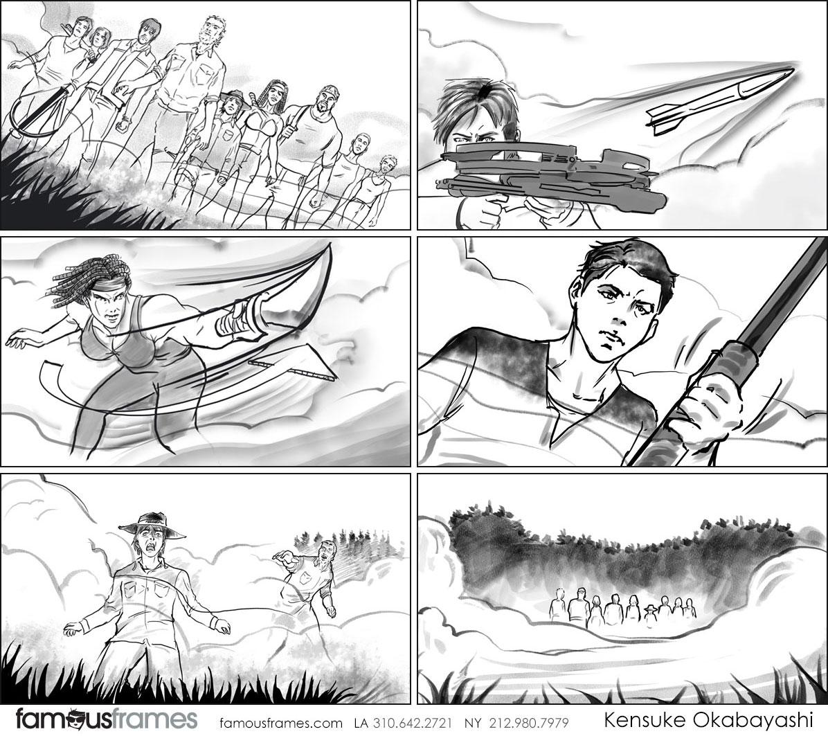 Kensuke Okabayashi's People - B&W Tone storyboard art (Image #6905_113_1482345519)