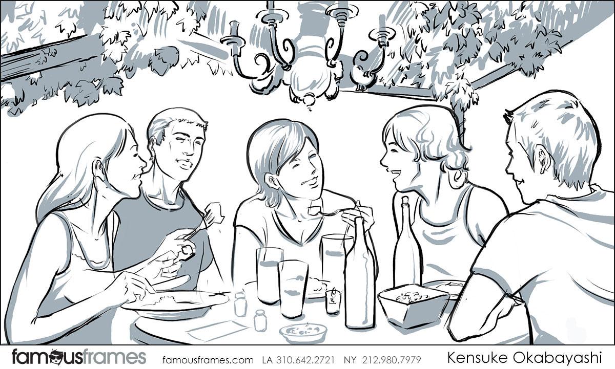 Kensuke Okabayashi's People - B&W Tone storyboard art (Image #6905_113_1482347284)