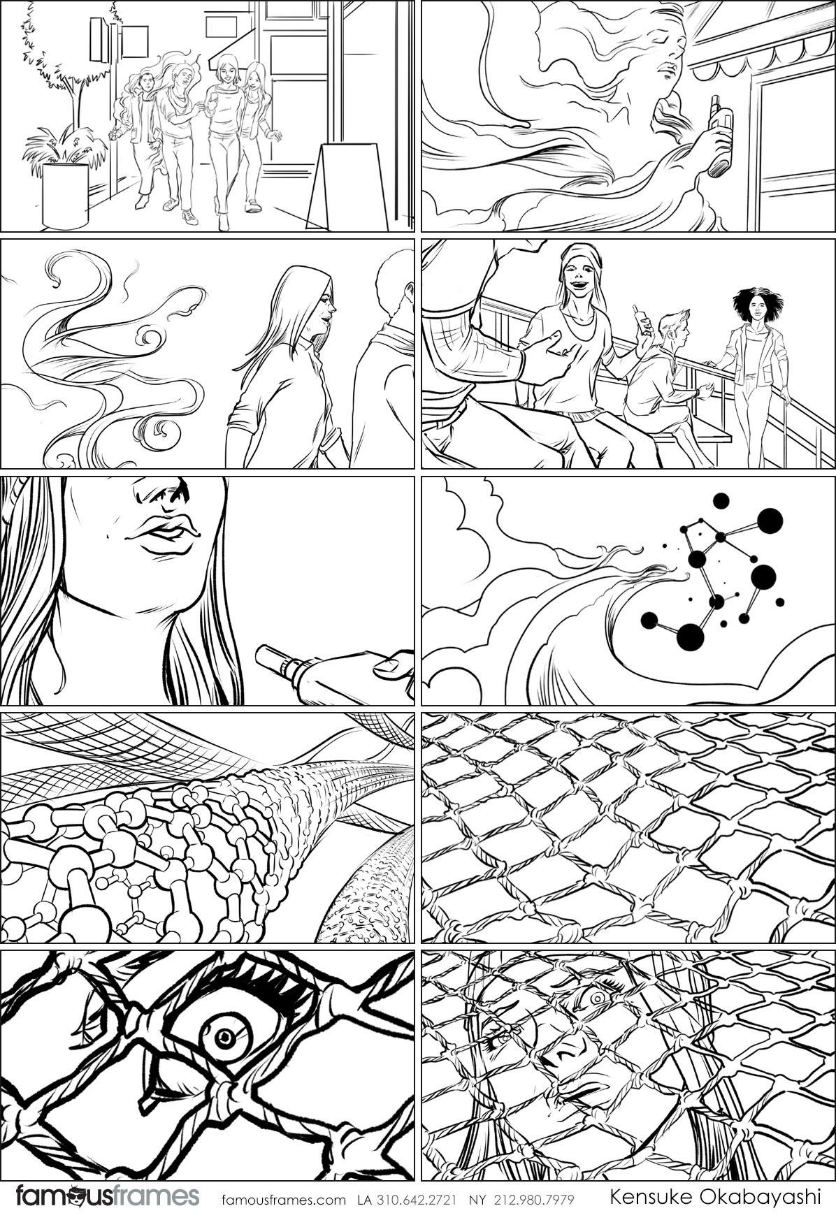 Kensuke Okabayashi's People - B&W Line storyboard art (Image #6905_114_1481222557)