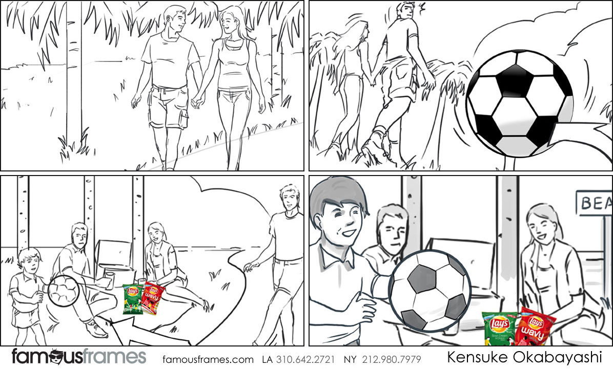 Kensuke Okabayashi's People - B&W Line storyboard art (Image #6905_114_1481222945)