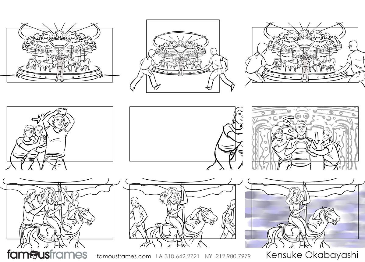 Kensuke Okabayashi's People - B&W Line storyboard art (Image #6905_22_1528757539)