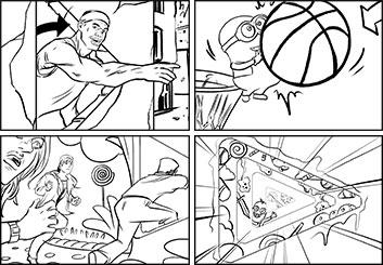 Kensuke Okabayashi's Shootingboards storyboard art
