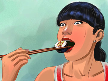 Kensuke Okabayashi's People - Color  storyboard art