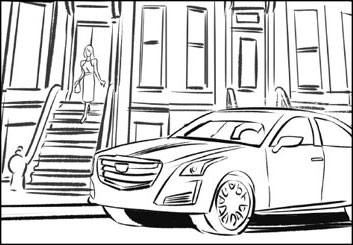 Kensuke Okabayashi's Vehicles storyboard art