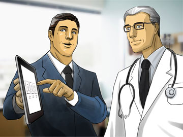Kensuke Okabayashi's Pharma / Medical storyboard art