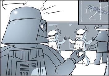 Kensuke Okabayashi's Toys storyboard art