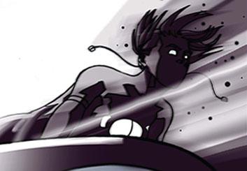Kensuke Okabayashi's Comic Book storyboard art