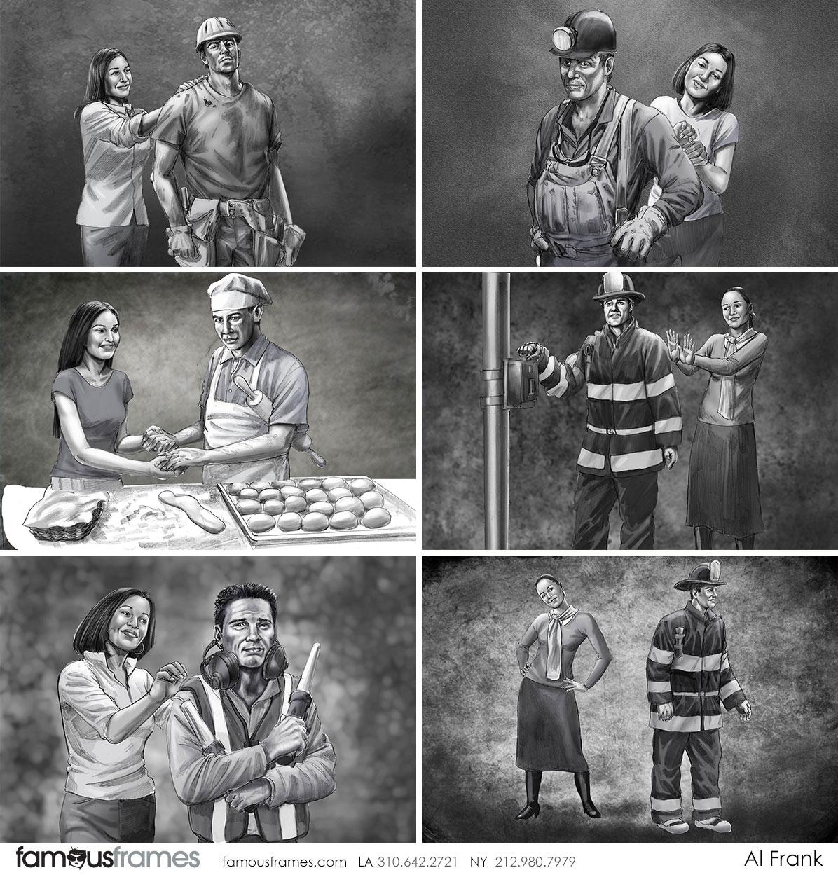 Al Frank's People - B&W Tone storyboard art (Image #7016_113_1481918565)