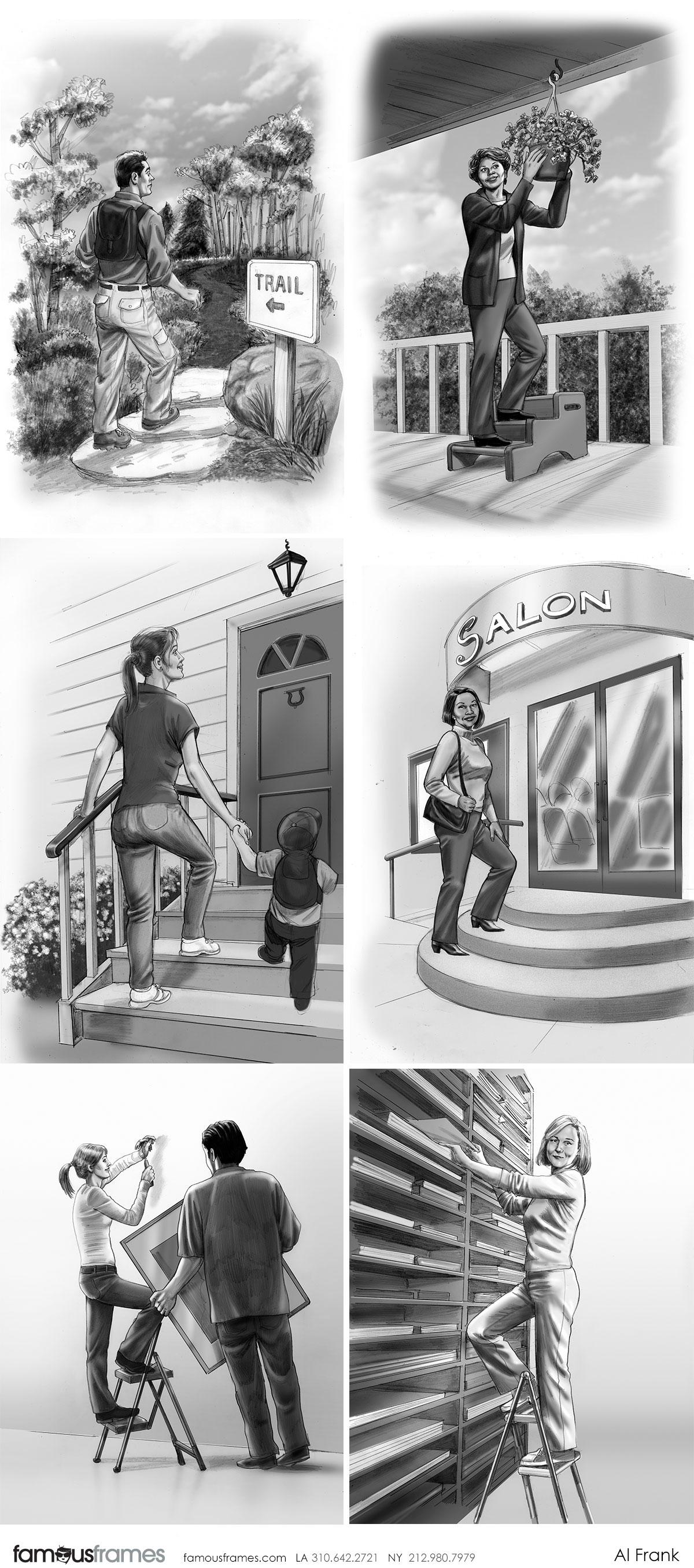 Al Frank's People - B&W Tone storyboard art (Image #7016_113_1481918650)