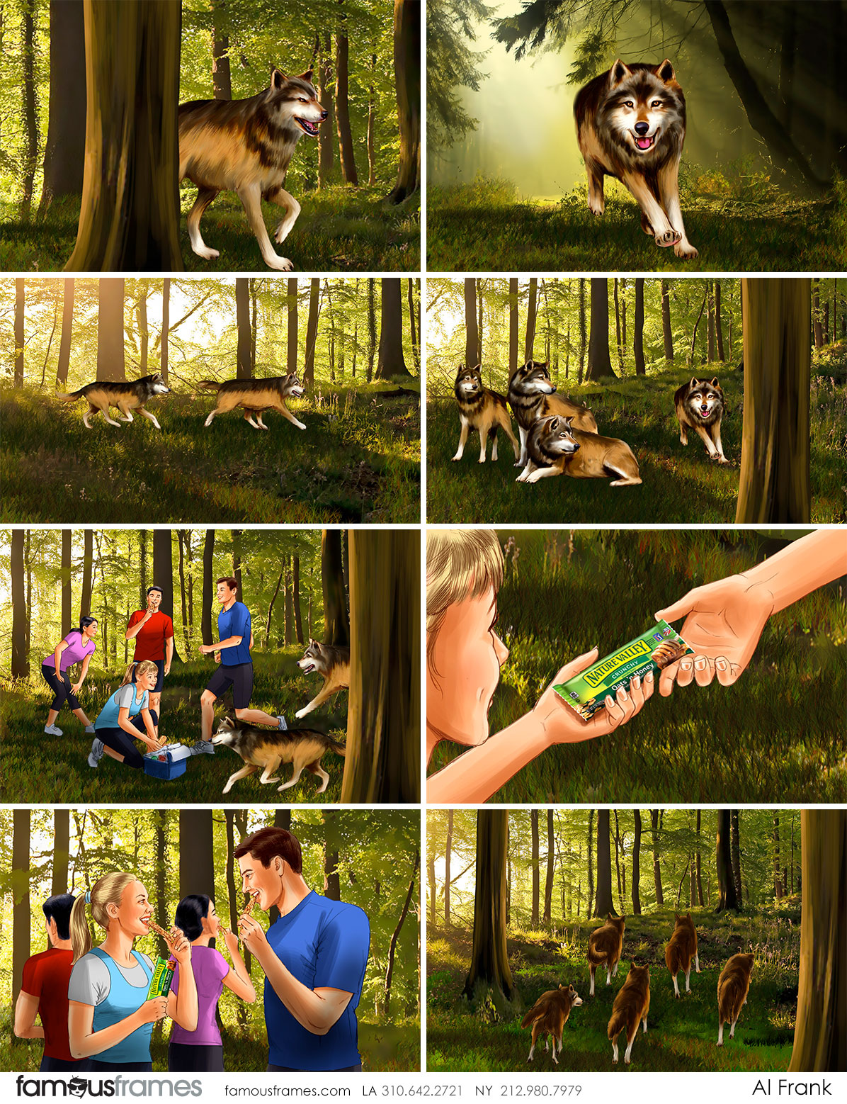 Al Frank's Wildlife / Animals storyboard art (Image #7016_6_1481939098)