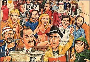 Al Frank's Key Art / Posters storyboard art