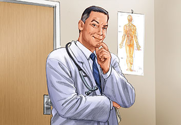 Al Frank's Pharma / Medical storyboard art