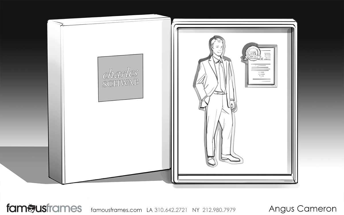 Angus Cameron's People - B&W Line storyboard art (Image #7097_114_1482448328)