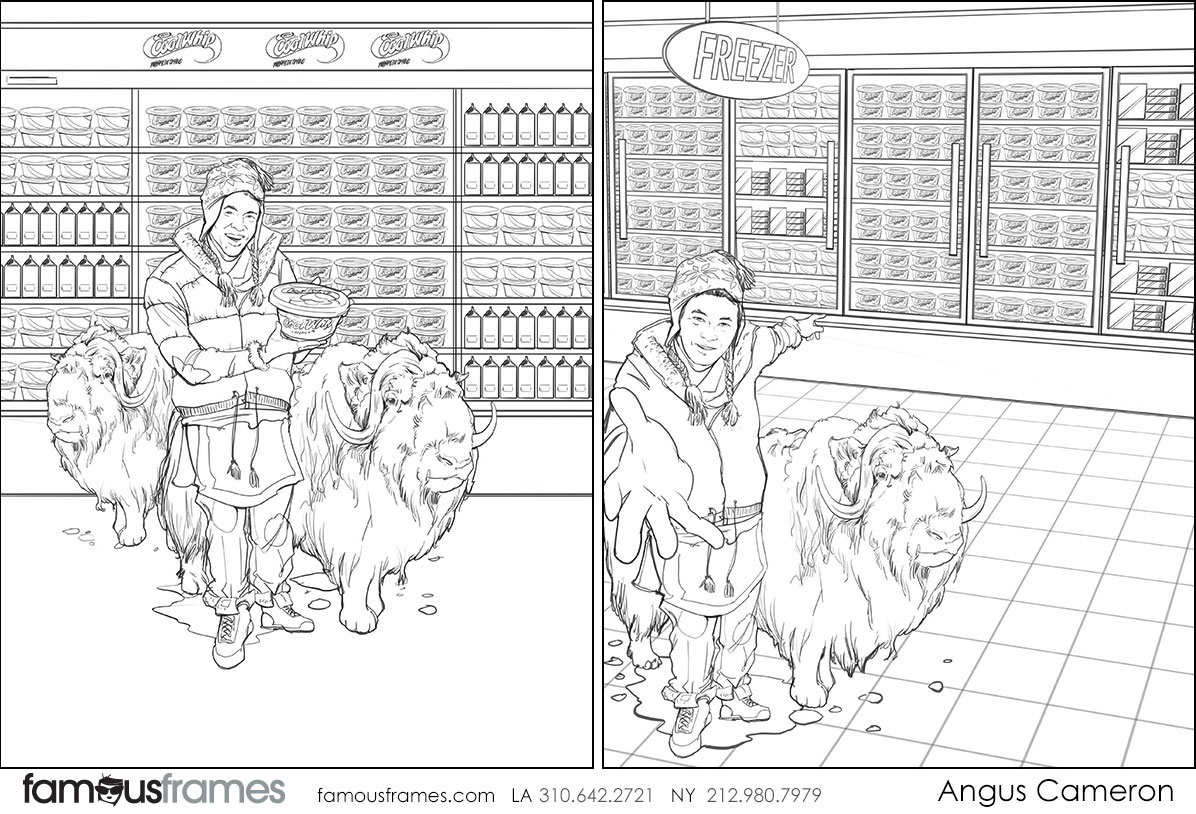 Angus Cameron's People - B&W Line storyboard art (Image #7097_114_1495580855)