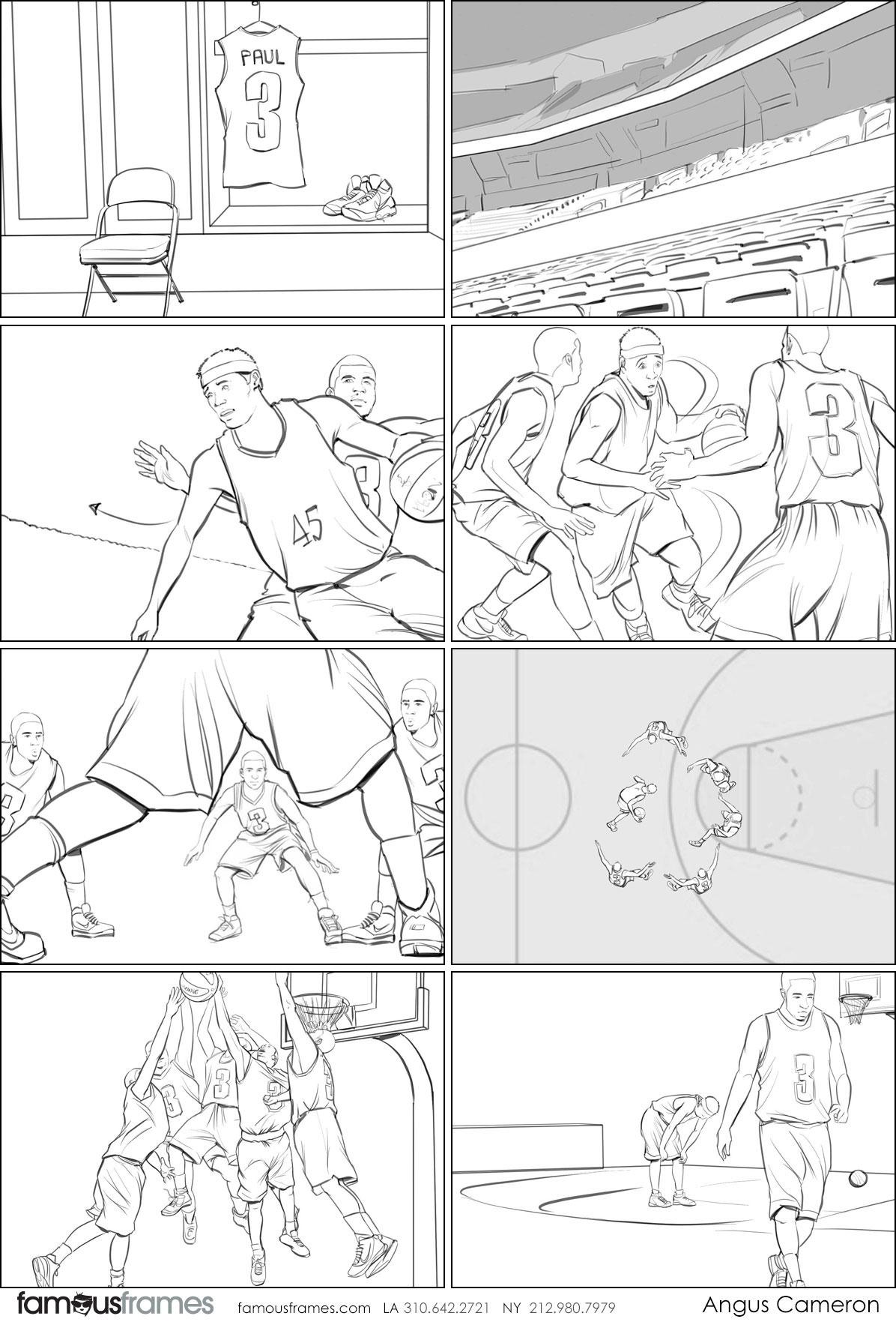 Angus Cameron's People - B&W Line storyboard art (Image #7097_114_1495580990)