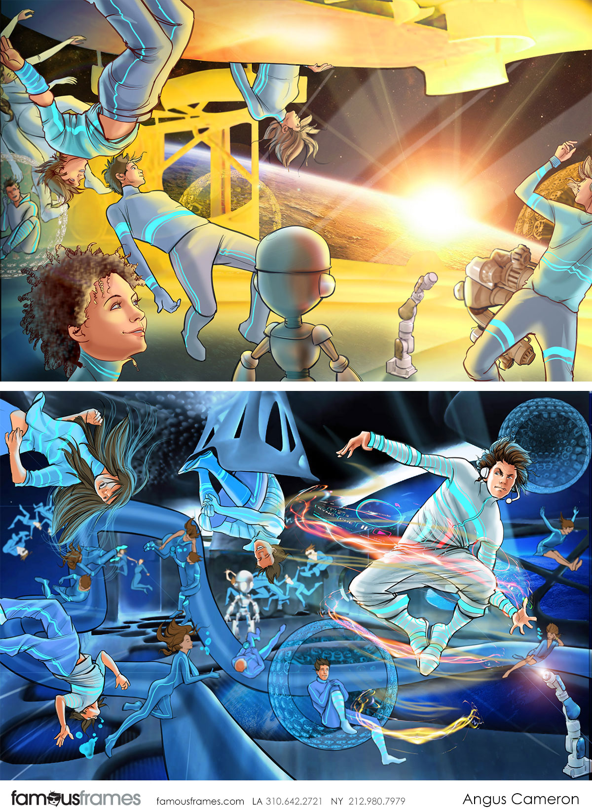 Angus Cameron's People - Color  storyboard art (Image #7097_19_1496180937)