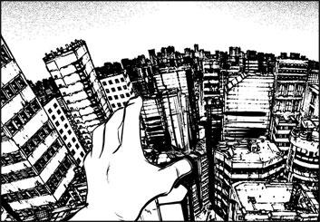Angus Cameron's Environments storyboard art