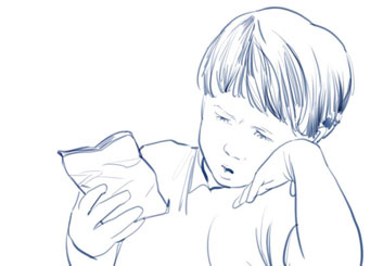 Angus Cameron's Kids storyboard art