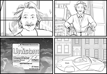 Angus Cameron's Shootingboards storyboard art