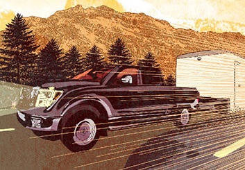 Angus Cameron's Vehicles storyboard art