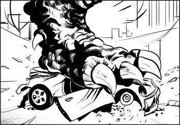 Angus Cameron's Action storyboard art