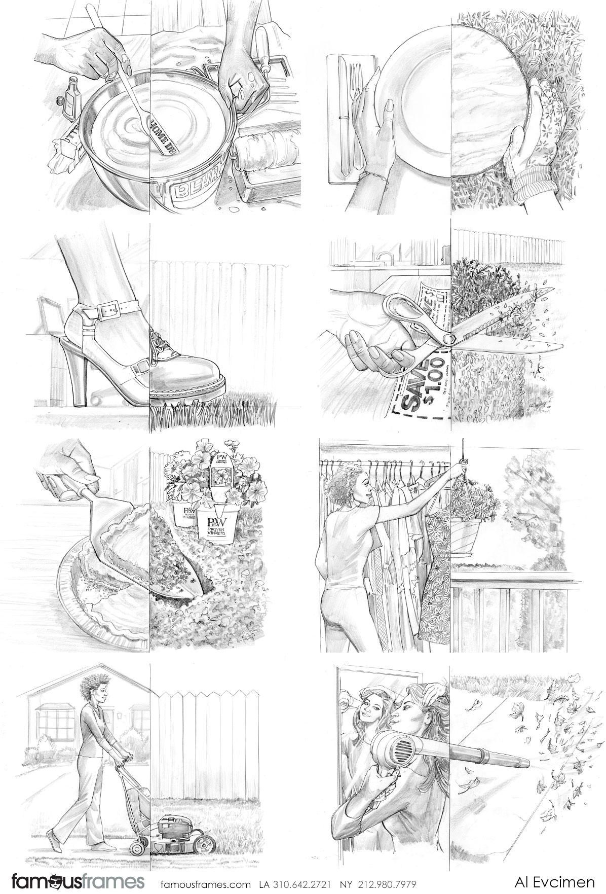 Al Evcimen's People - B&W Tone storyboard art (Image #7229_113_1483475460)