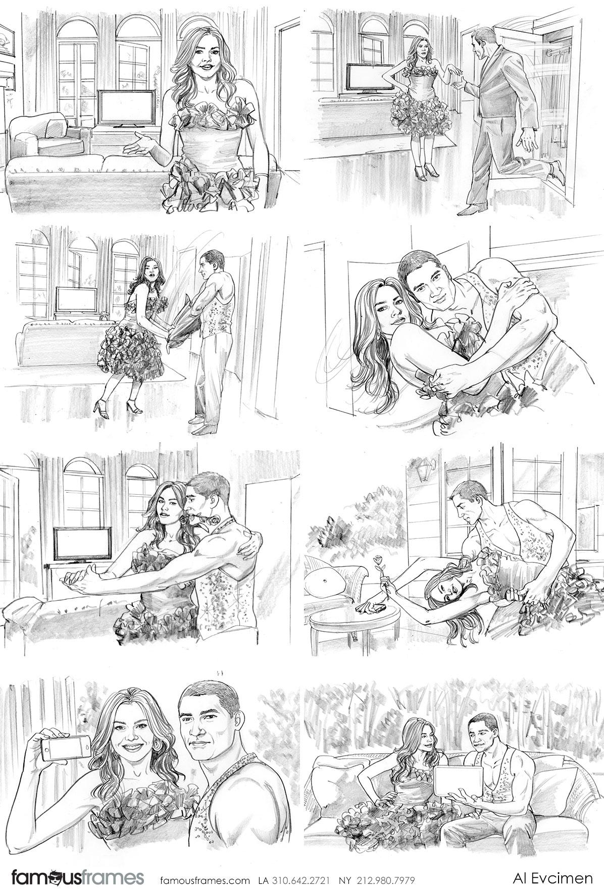 Al Evcimen's People - B&W Tone storyboard art (Image #7229_113_1483475536)
