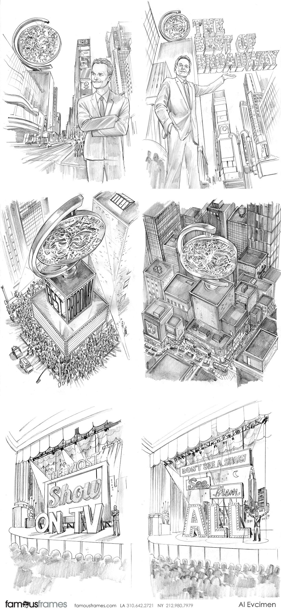 Al Evcimen's People - B&W Tone storyboard art (Image #7229_113_1483475565)
