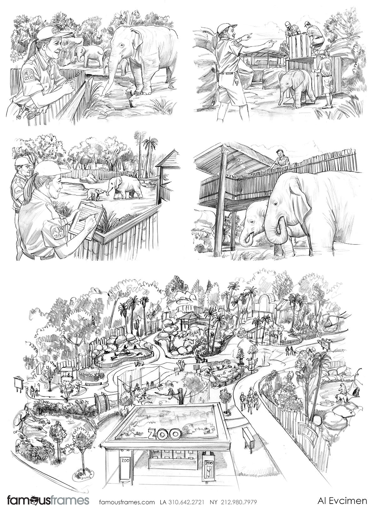 Al Evcimen's People - B&W Tone storyboard art (Image #7229_113_1483489301)