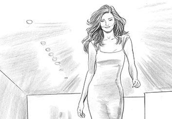 Al Evcimen's People - B&W Line storyboard art