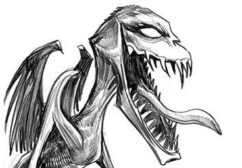 Al Evcimen's Characters / Creatures storyboard art