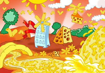 Frank Mignosi's Food storyboard art