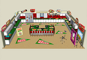 Frank Mignosi's Events / Displays storyboard art