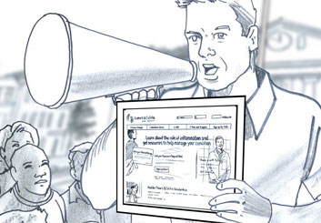 Brian Kammerer's People - B&W Line storyboard art
