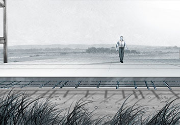 Brian Kammerer's Environments storyboard art