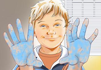 Brian Kammerer's Kids storyboard art