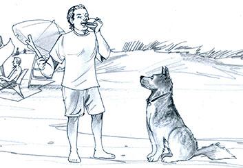 Brian Kammerer's Wildlife / Animals storyboard art