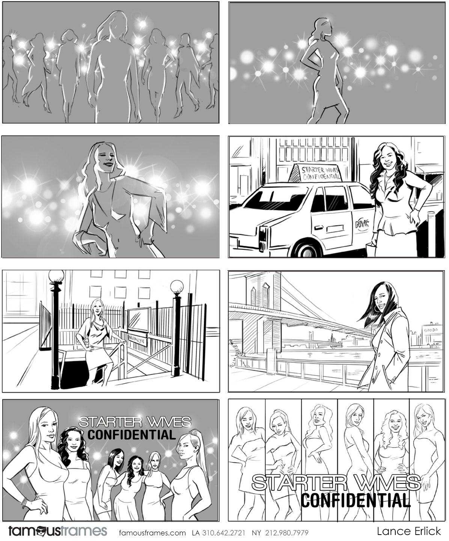 Lance Erlick's People - B&W Line storyboard art (Image #7413_114_1487019527)