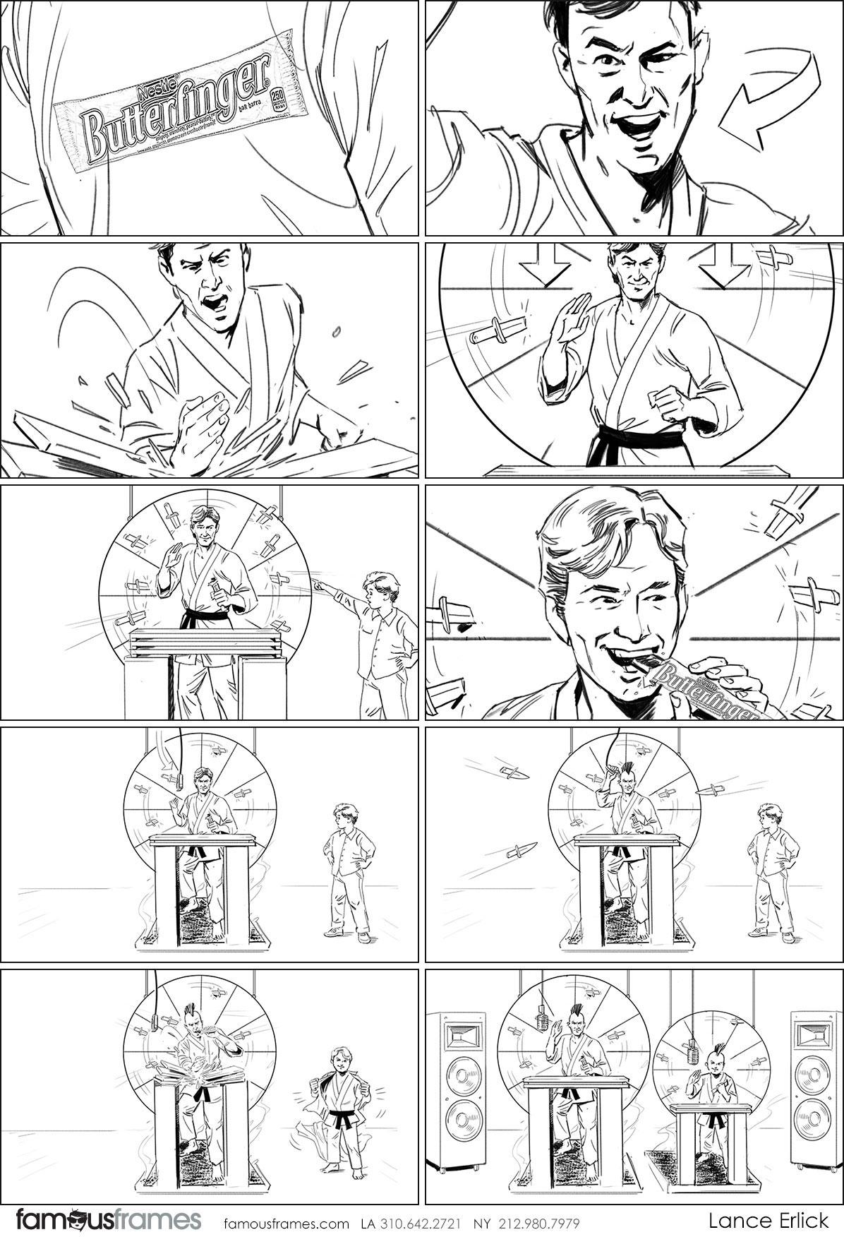 Lance Erlick's People - B&W Line storyboard art (Image #7413_114_1520553184)