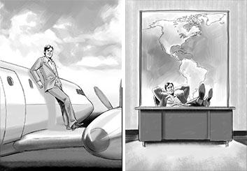 Lance Erlick's Print Comps storyboard art