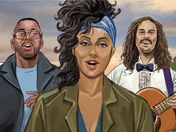 Lance Erlick's People - Color  storyboard art