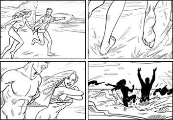 Lance Erlick's Shootingboards storyboard art