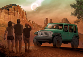 Lance Erlick's Vehicles storyboard art
