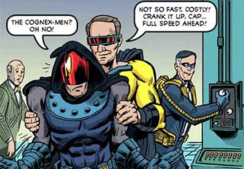 Lance Erlick's Comic Book storyboard art