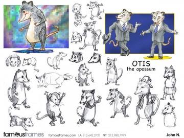 John Killian Nelson's Animation storyboard art